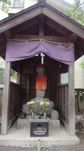 現在の幽霊石(永泉寺)