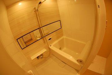 川口ハイデンス 浴室