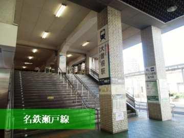 名鉄瀬戸線大曽根駅
