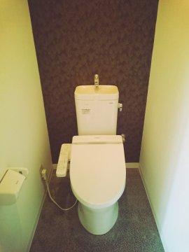 ライオンズマンション高宮 トイレ