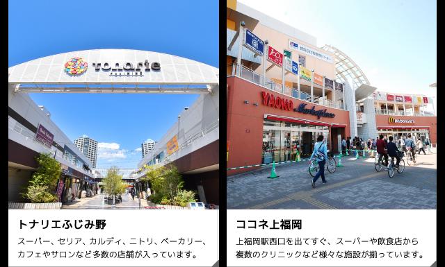 トナリエふじみ野・ココネ上福岡