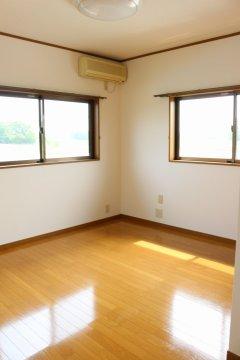 【2階北東側洋室:6.5帖】全居室エアコン付!