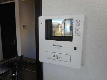テレビモニターフォン付