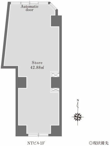 NTビル1階