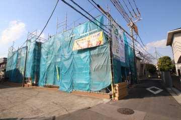 建設中物件の見学会会場