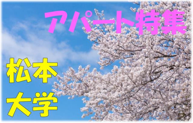 松本大学向け物件